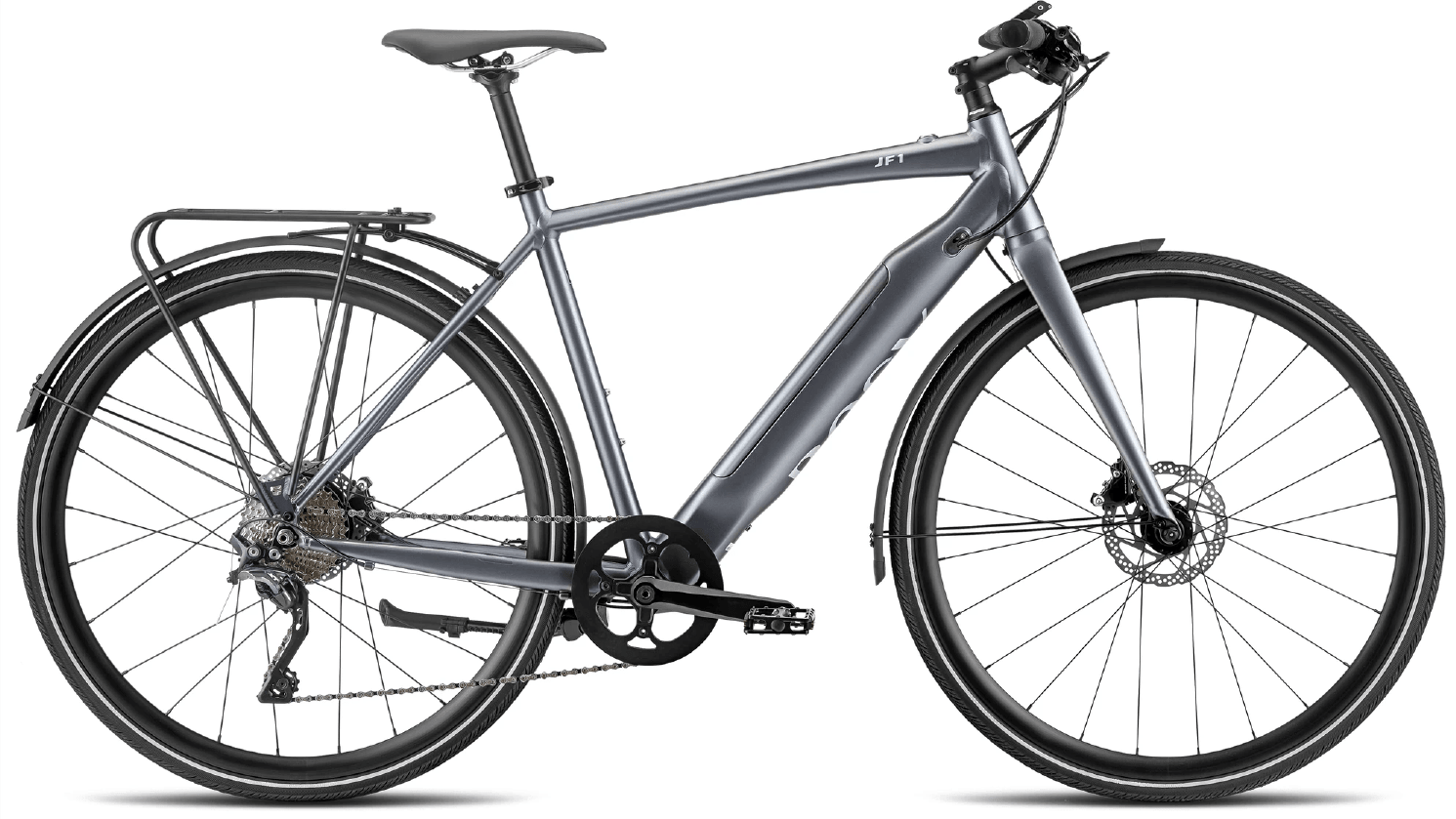 E Bike Trekking JF1 Urban Sport 252Wh L Grau