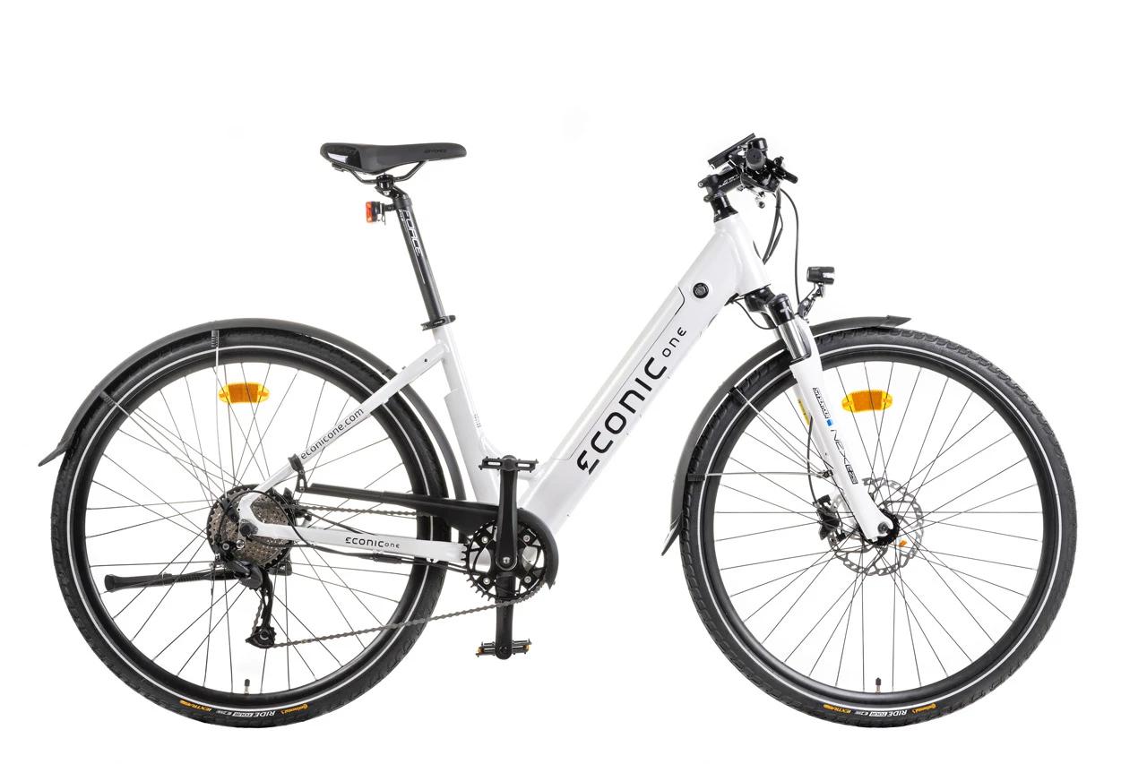 E Bike Trekking Damen Econic One Comfort M 44cm Weiss