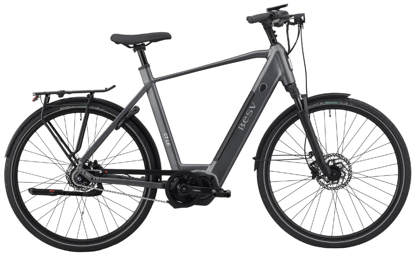 E Bike Trekking BESV CT LE Diamantrahmen Grau XL