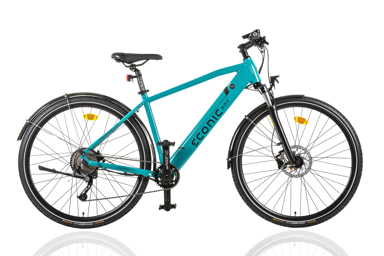E Bike Trekking Herren Econic One Urban M 44cm Blau