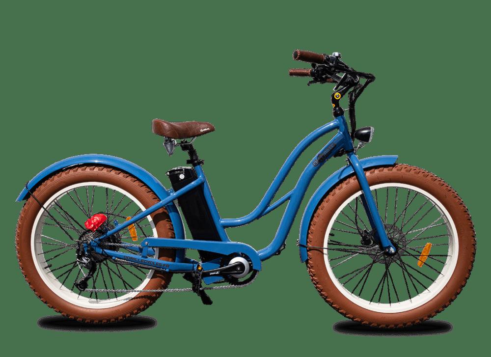 E Bike Damen Gorille 45km/h 980Wh Blau