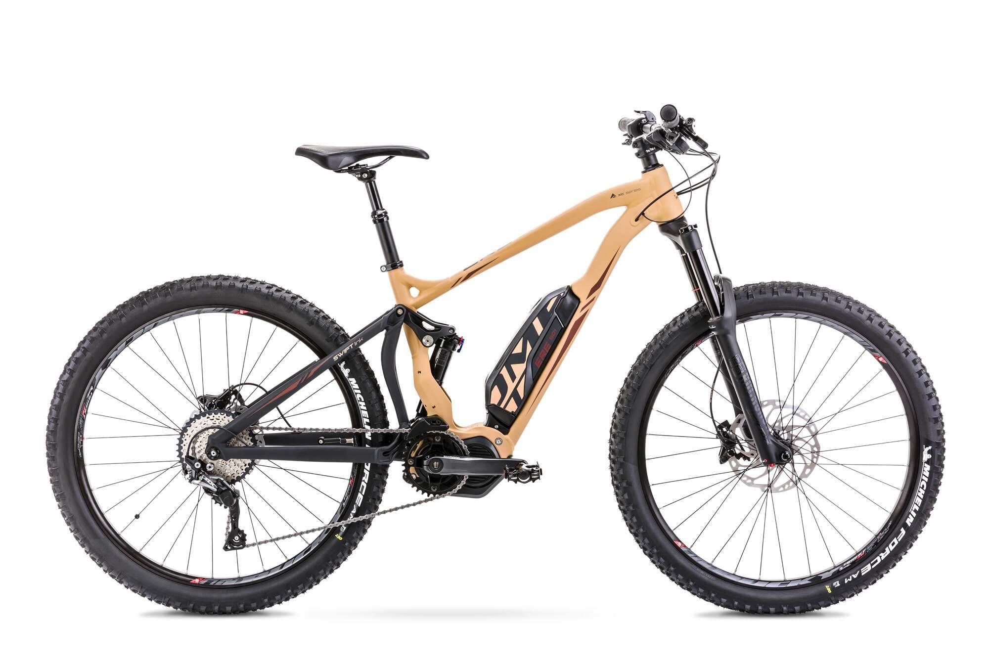 """E Mountainbike Fully Mittelmotor 27,5 Zoll Romet ERE 501 16,5"""" Gold"""