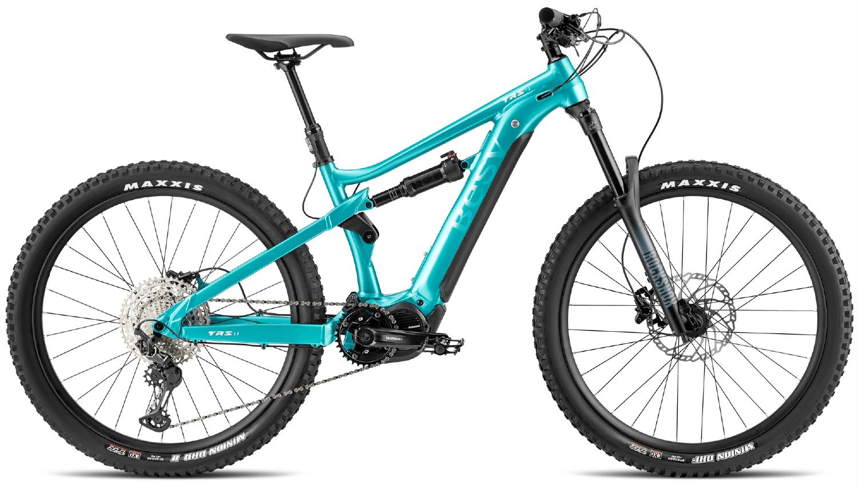 E Mountainbike BESV TRS 1.1 Diamantrahmen Gruen S