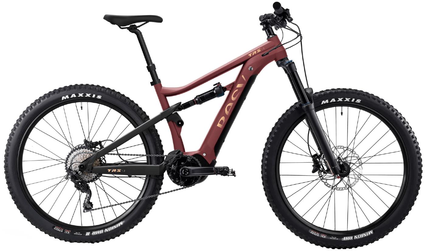 E Mountainbike BESV TRS 1.3 Diamantrahmen Rot S