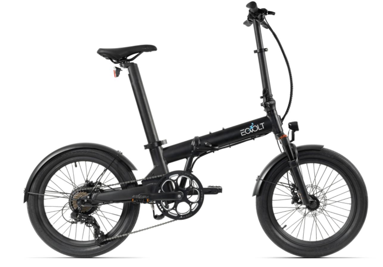 Klapp E Bike 20 Zoll EOVOLT Comfort X Schwarz