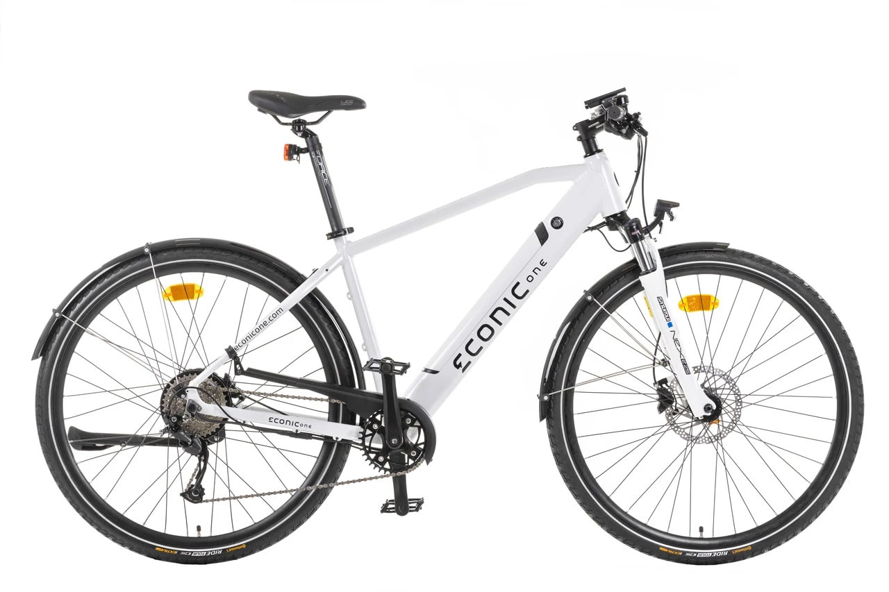 E Bike Trekking Herren Econic One Urban M 44cm Weiss