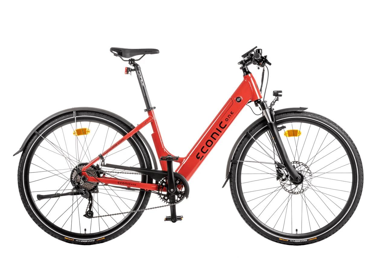 E Bike Trekking Damen Econic One Comfort M 44cm Rot