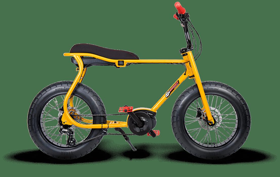 Ruff Cycles Retro E Fatbike Bosch Mittelmotor Lil'Buddy 500Wh Gelb