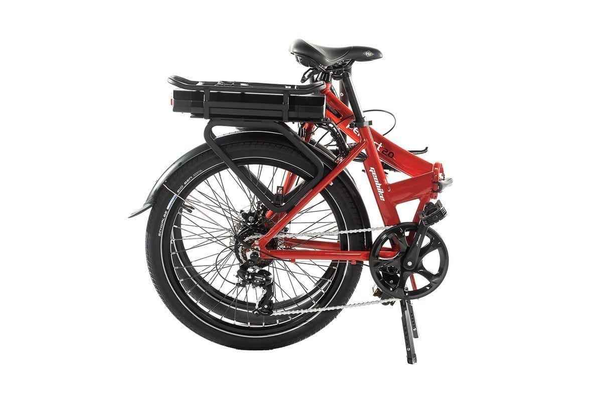Smart E Bike Klapprad 24 Zoll  Perfect 2.0 Rot 374Wh