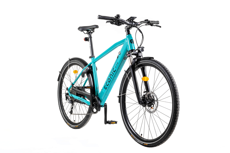 E Bike Trekking Econic One Urban Smart M 44cm Blau