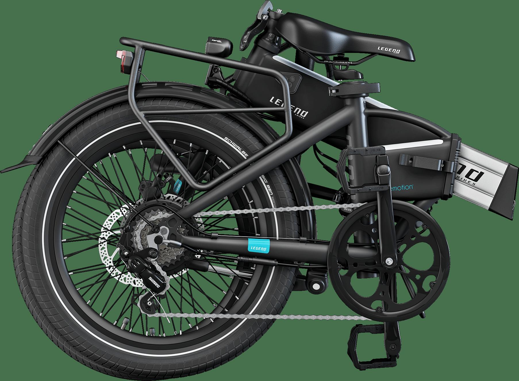 Smart Klapp E Bike Legend Monza 14ah Batterie Grau