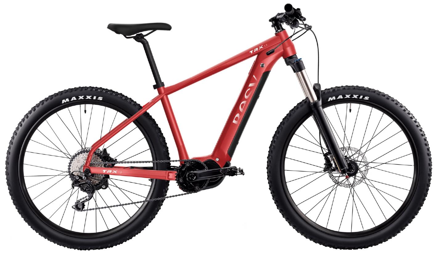 E Mountainbike BESV TRX 1.3 Diamantrahmen Rot S