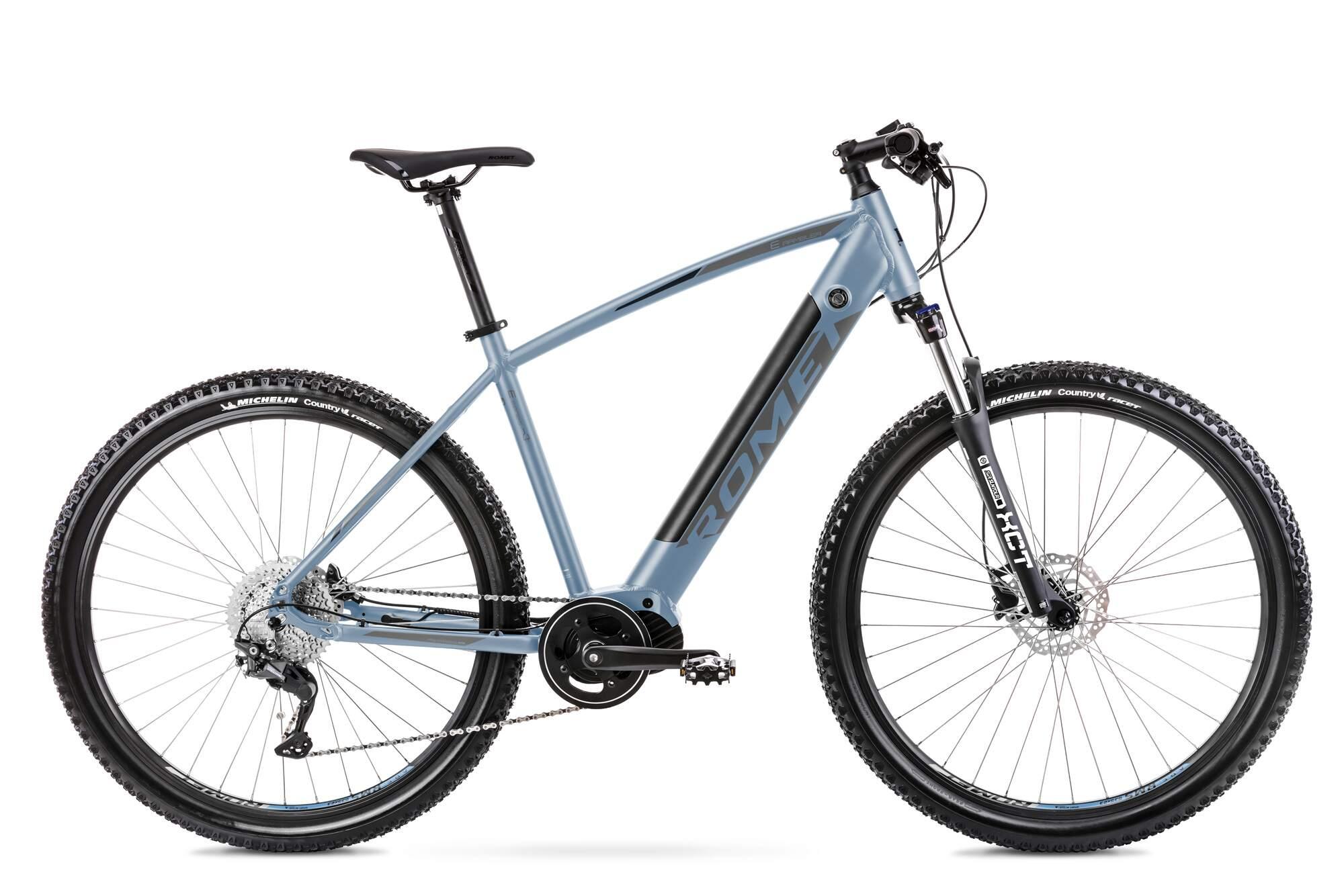 E Mountainbike Mittelmotor 29 Zoll Romet E-Rambler 20Inch Blau