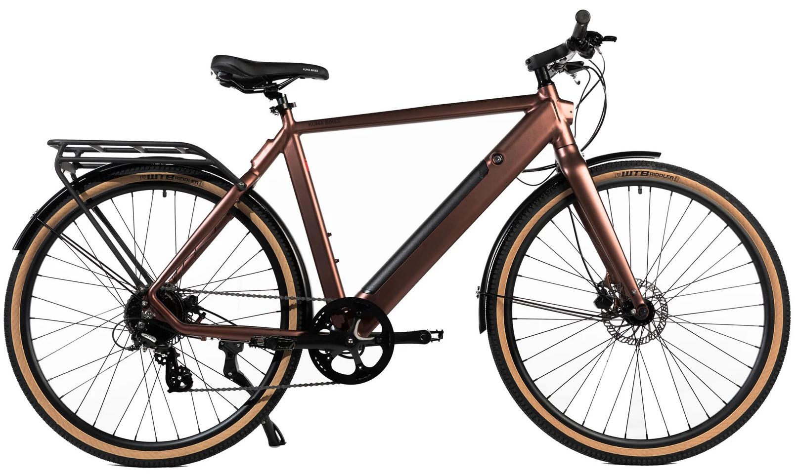 E Bike Trekking Kuma R1 Kupfer