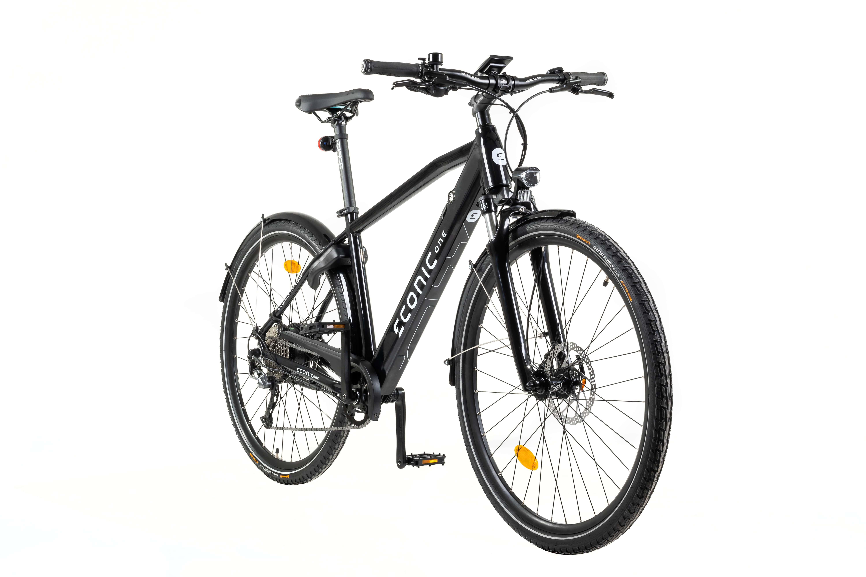 E Bike Trekking Econic One Urban Smart L 48cm Schwarz