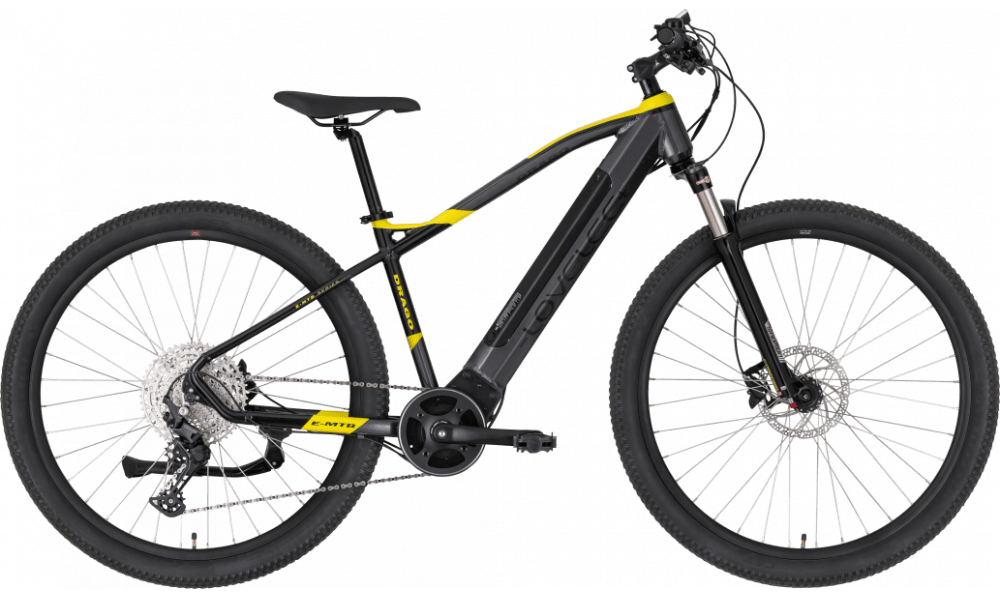 "E Mountainbike Mittelmotor 29 Zoll Lovelec Drago 720Wh 145km 17"""