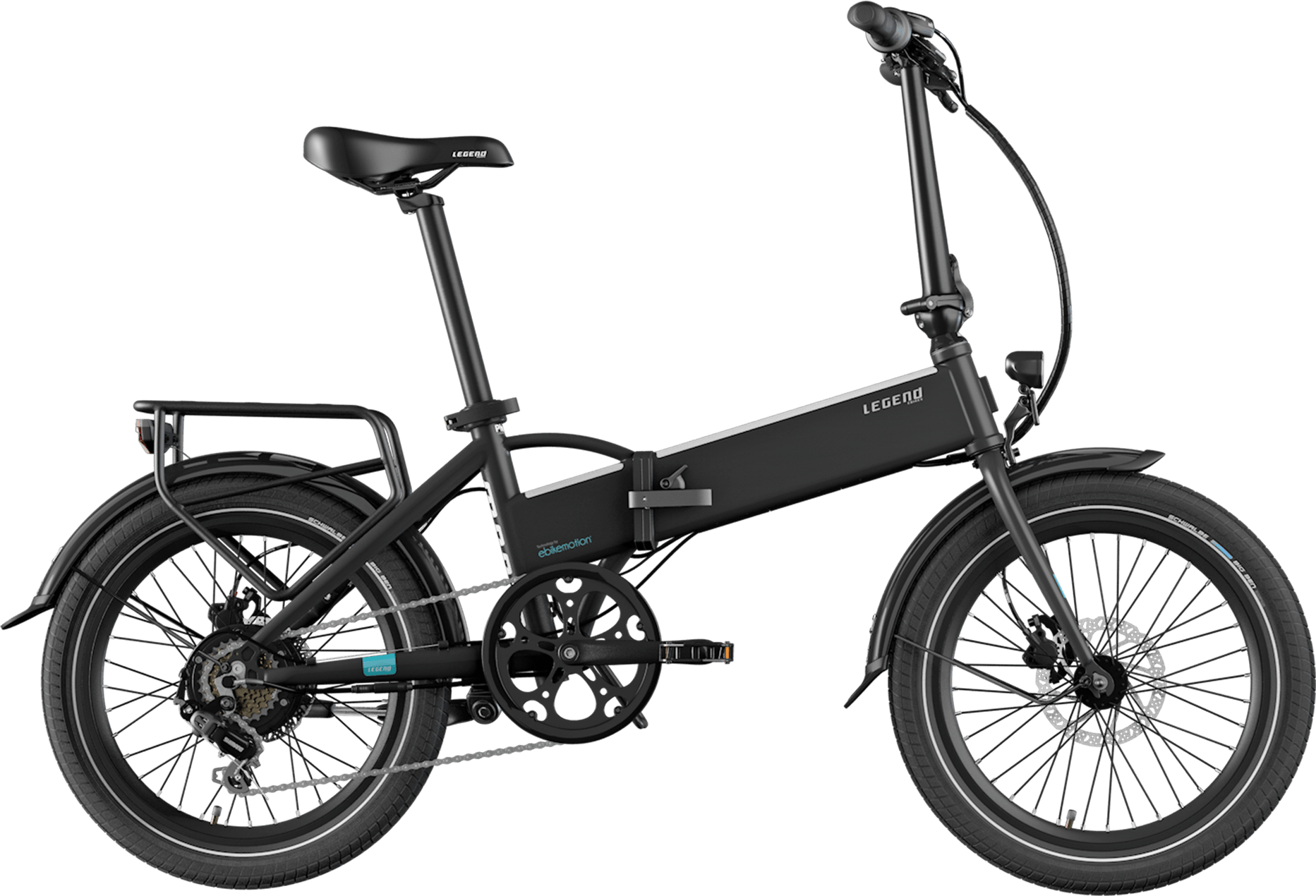 Smart Klapp E Bike Legend Monza 10.4ah Batterie Schwarz