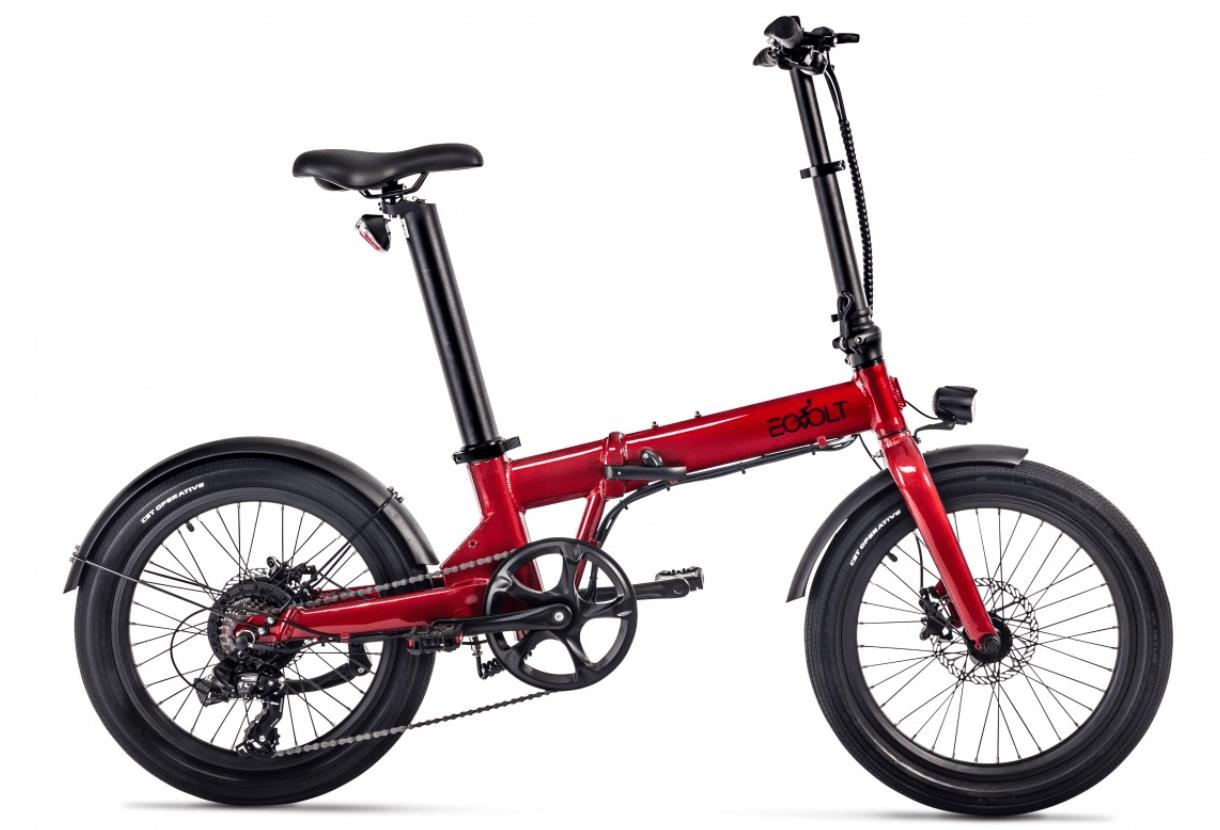 Klapp E Bike 20 Zoll EOVOLT Comfort Rot