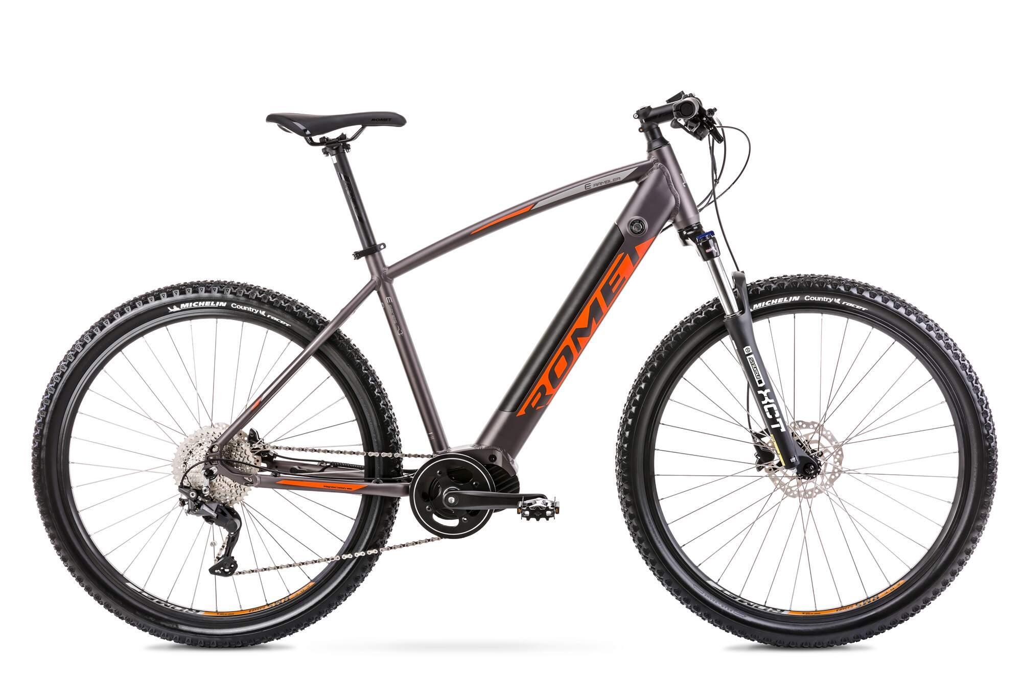 E Mountainbike Mittelmotor 29 Zoll Romet E-Rambler 18Inch Aluminium
