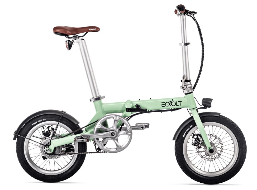 Klapp E Bike EOVOLT City 4 Speed Gruen