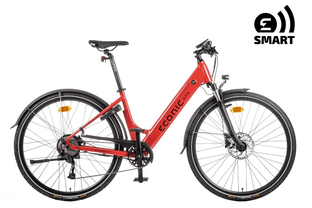E Bike Trekking Damen Econic One Smart Comfort M 44cm Rot