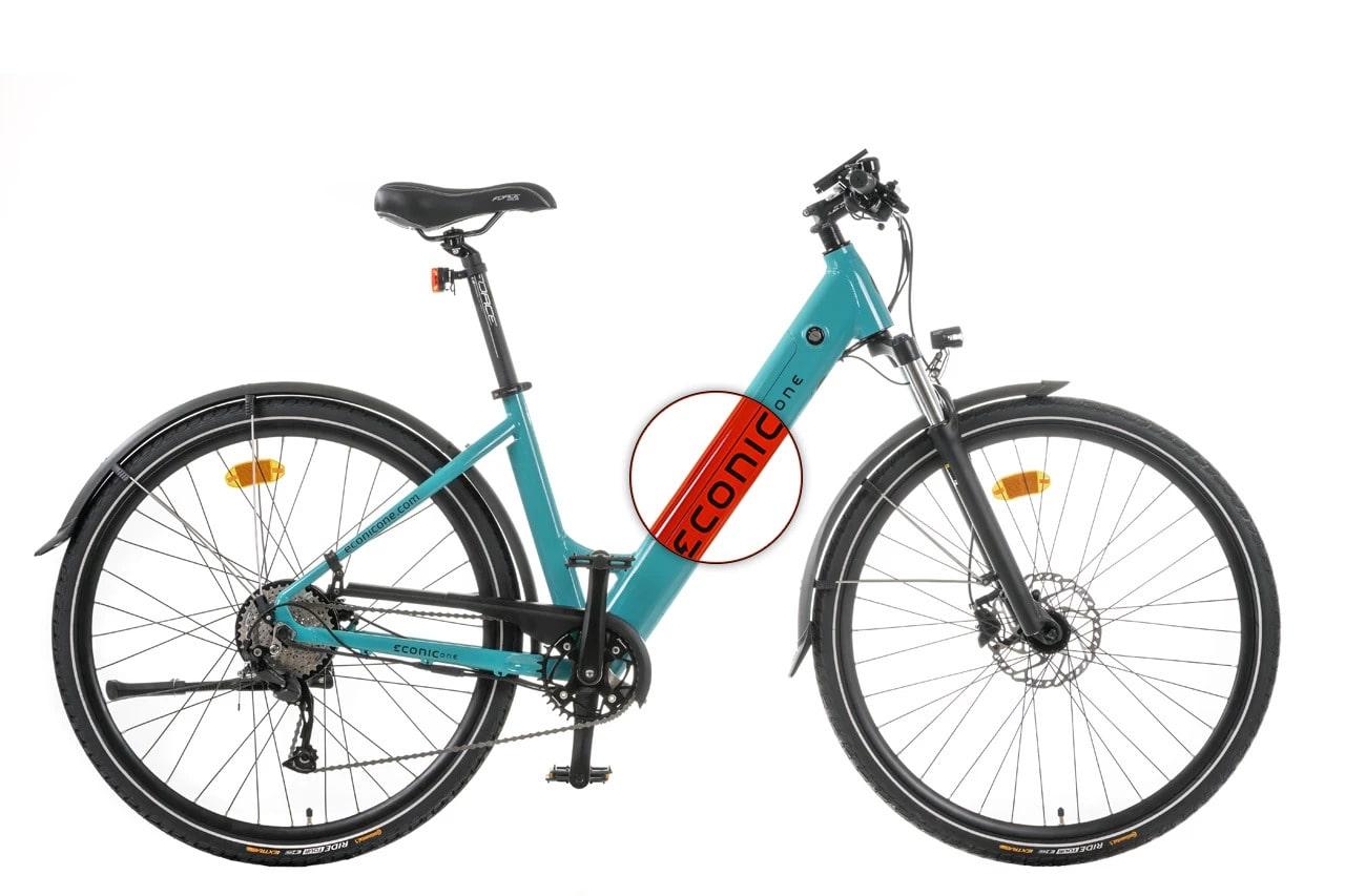 E Bike Damen Econic One Comfort M 44cm Rot