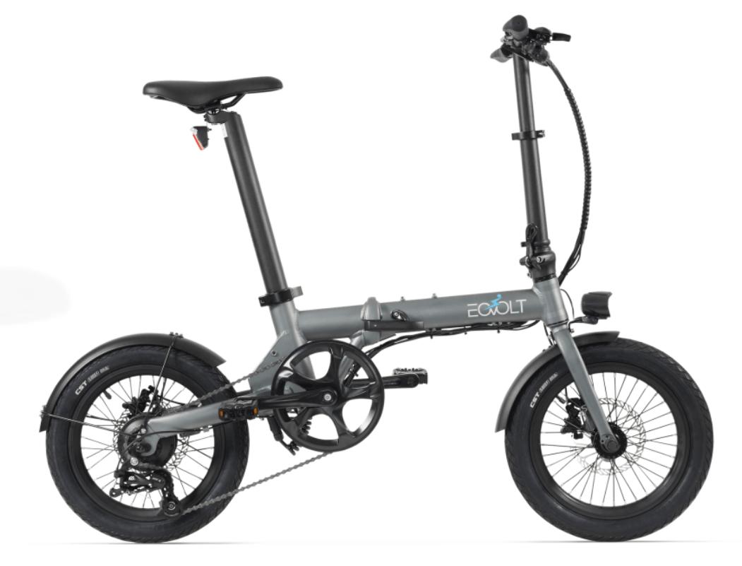 Klapp E Bike EOVOLT City 4 Speed Grau