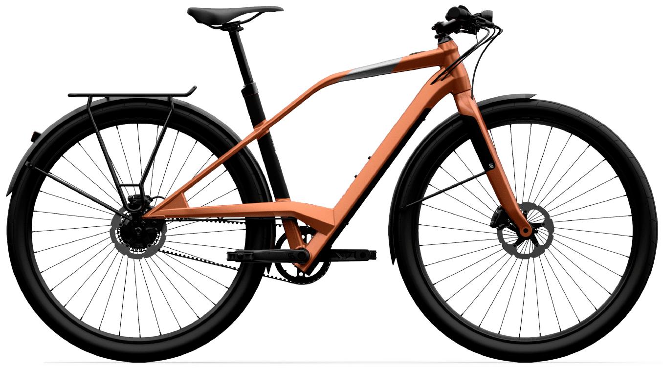 Smart E Bike Trekking Logo XD02 Gold M