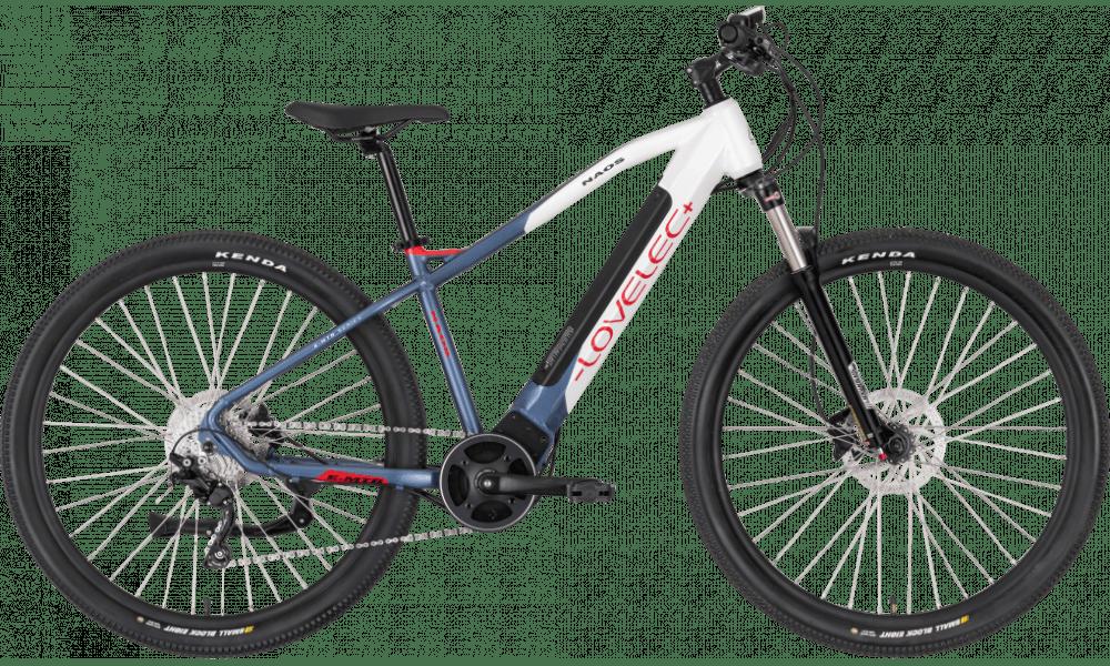 """E Mountainbike Mittelmotor 29 Zoll Lovelec Naos Weiss 540Wh 17"""""""