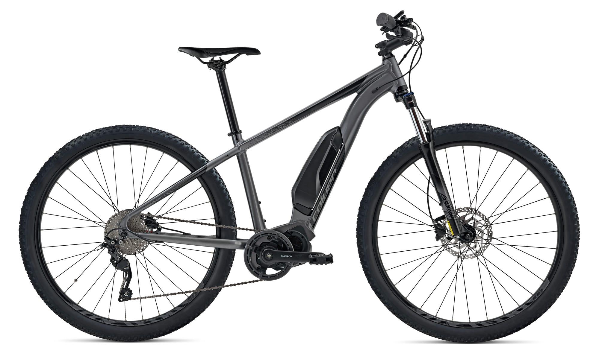 E Bike Mittelmotor Trekking Coluer Quickvolt Grau