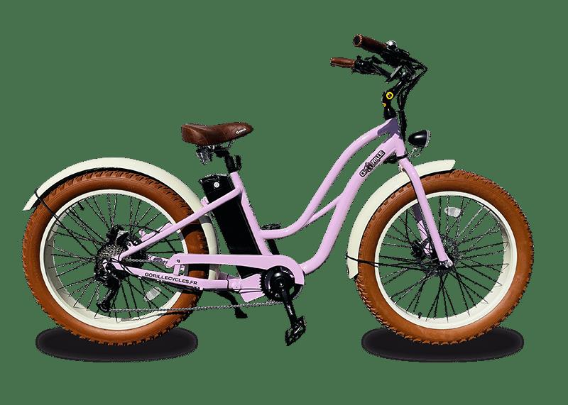 E Bike Damen Gorille 45km/h 980Wh Rosa