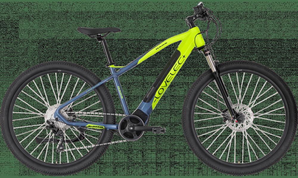"""E Mountainbike Mittelmotor 29 Zoll Lovelec Naos Gelb 720Wh 17"""""""