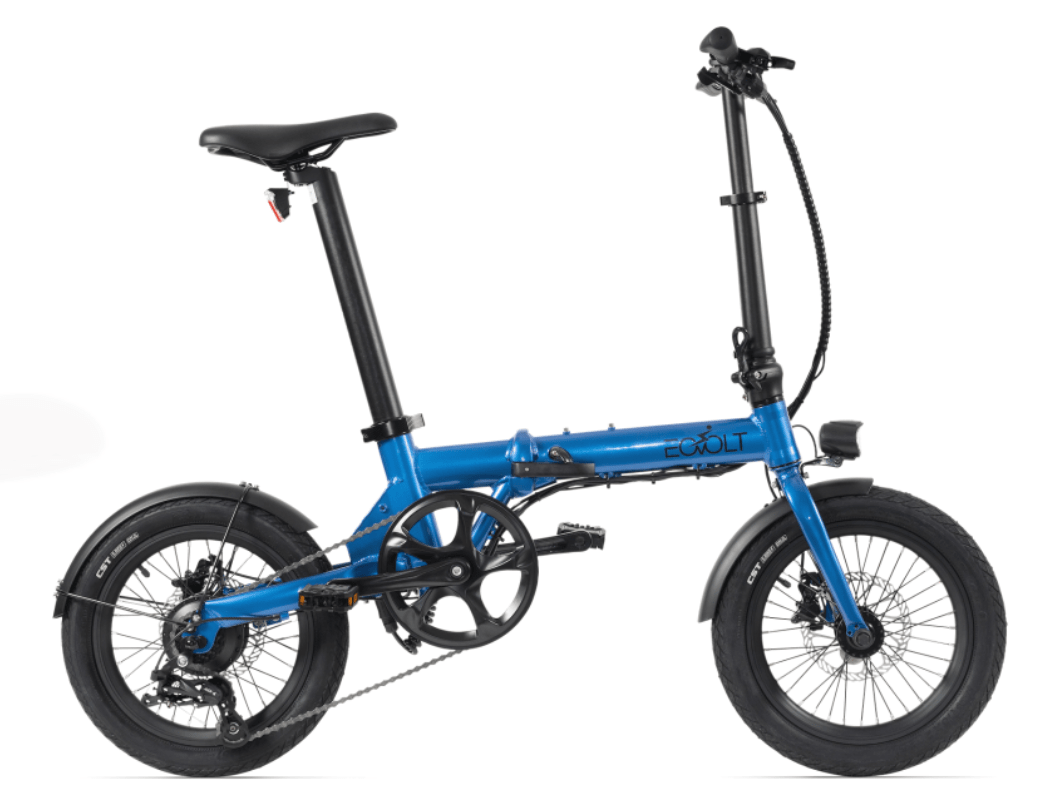 Klapp E Bike EOVOLT City 4 Speed Blau