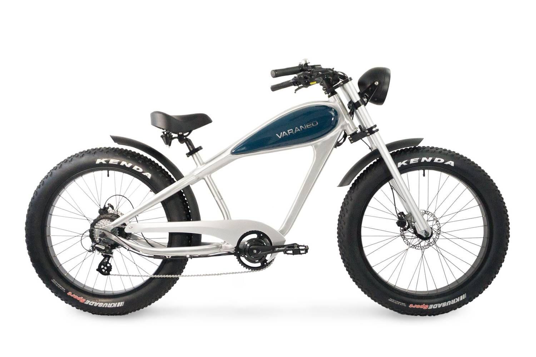 E Chopper Fahrrad Fatbike Varaneo Cafe Racer Aluminium