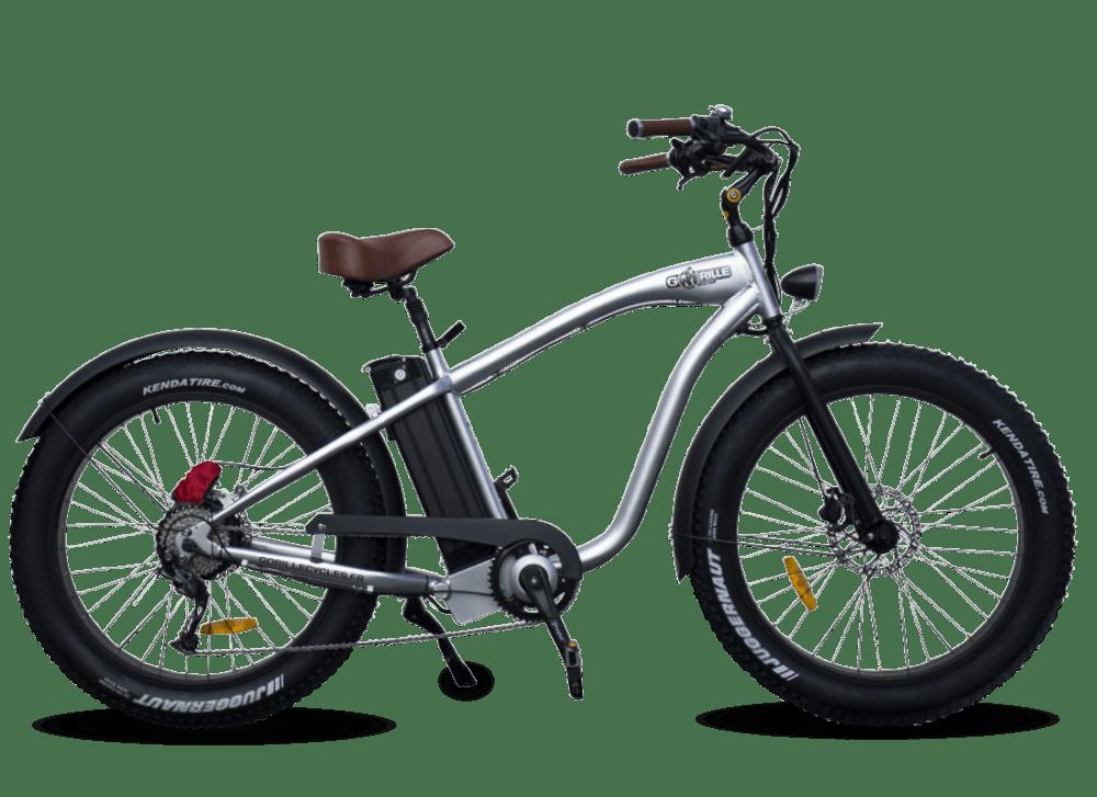E Fatbike Cruiser Gorille 45km/h 1000Wh Aluminium