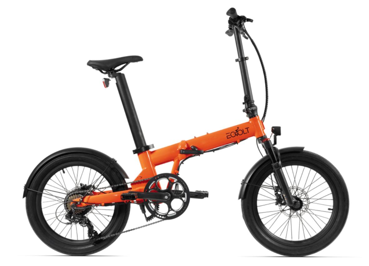 Klapp E Bike 20 Zoll EOVOLT Comfort X Orange