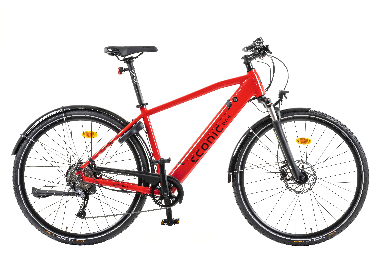 E Bike Trekking Econic One Urban Smart L 48cm Rot