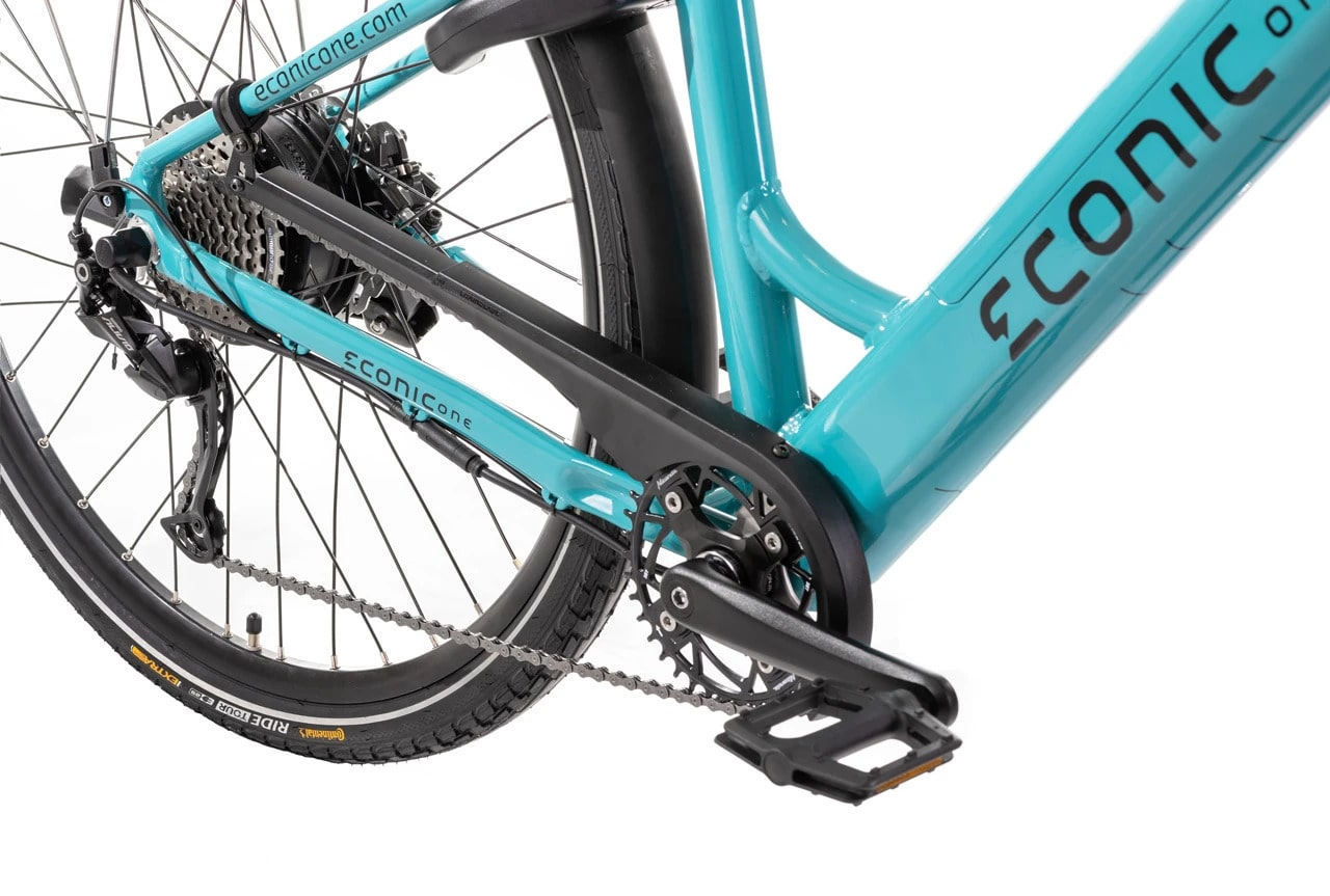 E Bike Damen Econic One Smart Comfort M 44cm Turquoise
