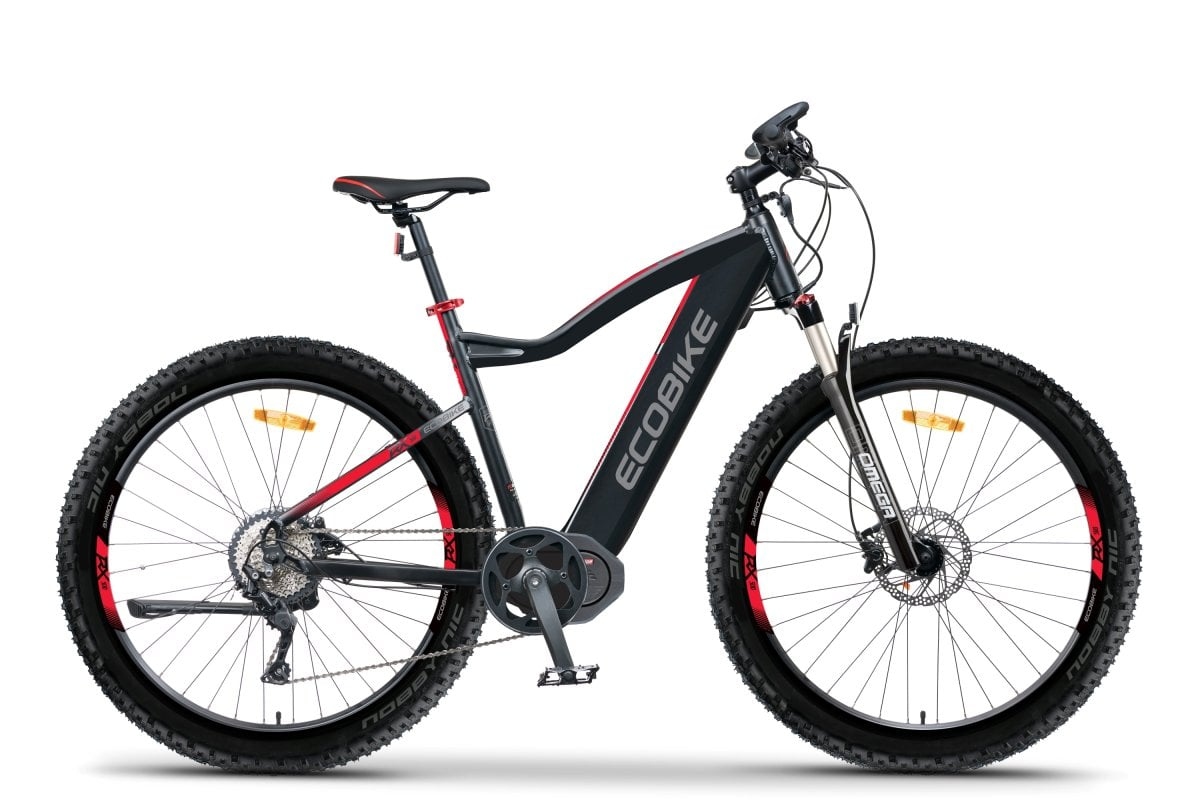S Pedelec Mountainbike Mittelmotor 45km/h Ecobike RX500 M 624Wh