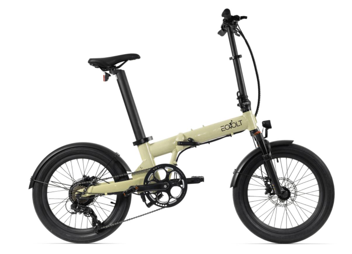 Klapp E Bike 20 Zoll EOVOLT Comfort X Gold