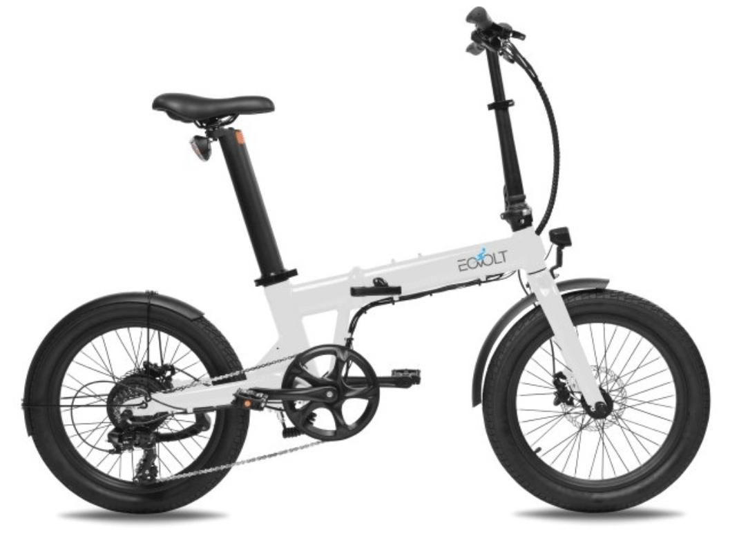 Klapp E Bike 20 Zoll EOVOLT Comfort Weiss