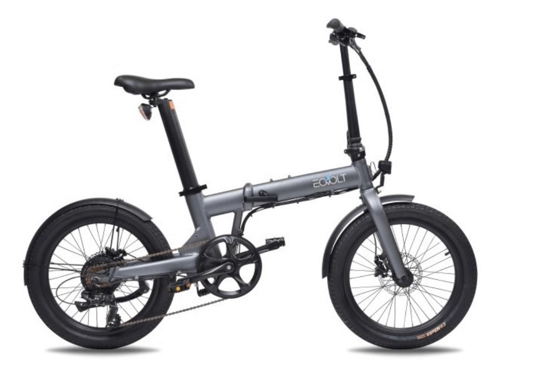 Klapp E Bike 20 Zoll EOVOLT Comfort Grau