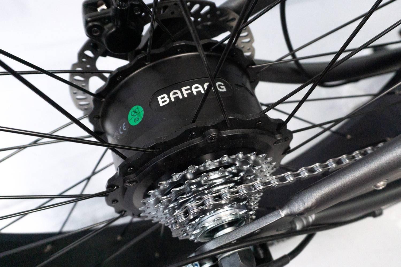 E Chopper Fahrrad Fatbike Varaneo Cafe Racer Schwarz